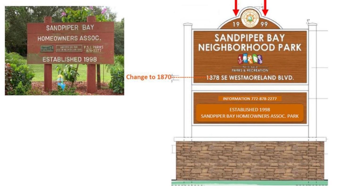 sandpiper sign